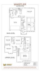the whistler floor plan paxton option