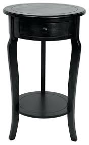 incredible black round nightstand side table drawer s on night digital clock small round nightstand