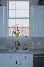white painted oak kitchen cabinets. How To Paint Oak Cabinets White   The Orange Slate Painted Kitchen B