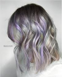 Light Purple And Silver Hair 23 Stunning Purple Hair Color Ideas For 2019