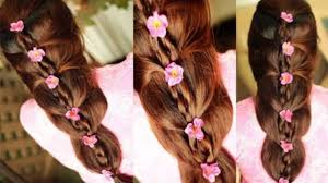 Self Hair Style easy and chic wedding promand party hairstyle for spring summer 4479 by wearticles.com