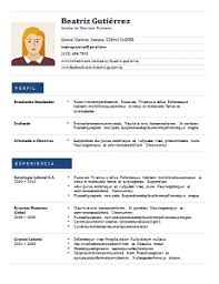 Formatos De Curriculum Simple 60 Formatos De Curriculum Vitae En Word Para Descargar Y