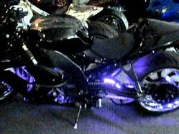 motorcycle multi color led light kit with remote tricked out