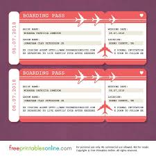 downloadable save the date templates free free printable boarding pass save the date template