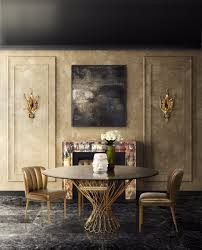 luxury dining room. 8 Dining Room Tables Perfect For A Luxury Set O