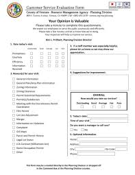 Employee Evaluation Form Template Word Awesome Feedback Service ...