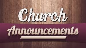 Church Announcements / Christ Church Worship Center-Hyderabad / CGTI  VijayKumar - YouTube