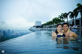 infinity pool mbs. Marina Bay Sands Skypark: One Of Our Bucket List, Swim At MBS Infinity Pool Mbs