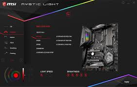 Msi Mystic Light Cpu Temperature Bios And Software The Msi Meg Z390 Ace Motherboard Review