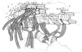 warhammer 40k orc machinegun