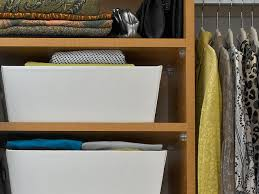 closet storage baskets  hgtv