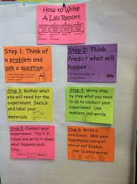 Tc Lab Report Anchor Chart How To Write A Lab Report