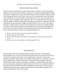 descriptive essays on the beach cover letter examples of  writing of a beach descriptive writing of a beach