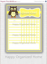 25 Off Sale Instant Download Chore Chart By