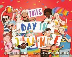 this day in june by le e pitman is a wildly whimsical validating and exuberant reflection of the lgbt munity which weles readers to