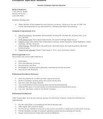 Sample Resume For Computer Operator Best Of Data Entry Operator Cover Letter Data Entry Specialist Cover Letter