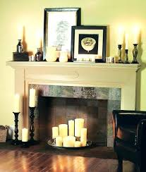 candles in fireplace candle fireplace logs best ideas on fire place decor candles in pillar decorative