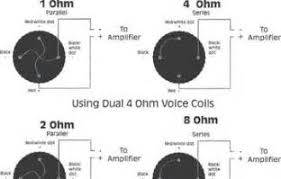 dual voice coil speaker wiring diagram images ohm dual voice coil dual voice coil speaker wiring diagram manual