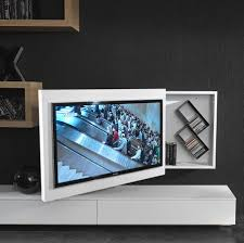 Tv wall box Wall Plate Contemporary Tv Wall Bracket Swivel Metal Lacquered Wood Box Archiexpo Contemporary Tv Wall Bracket Swivel Metal Lacquered Wood Box