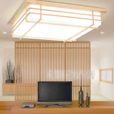 japanese style lighting. Japanese Style Pendant Lights Garden Minimalist Bedroom Ceiling Wood Lamp Room Sheepskin Living Hanging Uk Lighting S