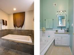 Small Picture Miscellaneous Small Bathroom Renovations Before and After