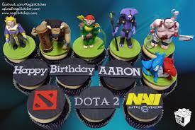 dota 2 cupcakes for aaron