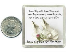 lucky sixpence for the bride to be coin for wedding day shoe great present idea amazon co uk toys games