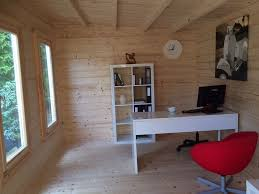 home office cabin. Fine Home A Bright Space Inside The Cambridgeshire Cabin Garden Home Office Throughout 5