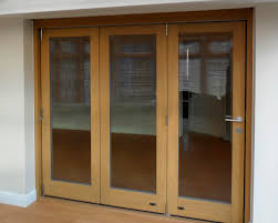 sliding and stacking patio door folding wooden double glazed