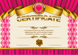 Background Certificate Free Vector Download 49 432 Free Vector For