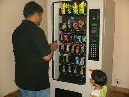 Shampoo Vending Machine Inspiration Vending Machine Basic Products Like Soap Shampoo Oil Razor Are
