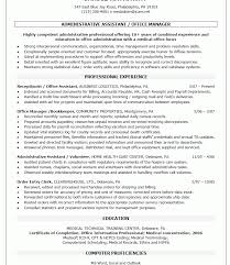 sample resume for office manager position sample resume for an office manager position danaya us