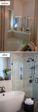 Best  Small Shower Remodel Ideas On Pinterest - Before and after bathroom renovations