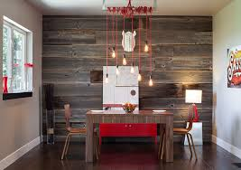 industrial dining room pendant lighting over 3 piece wooden dining set on dark stained hardwood