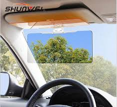mirror 40 x 60. car anti glare goggles mirror sun visor sunscreen shade sunshade with night vision 40 x 60