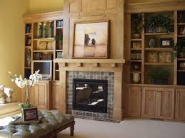 Living Room Design With Fireplace Built In Bookshelves Around Fireplace Fireplace Living Room