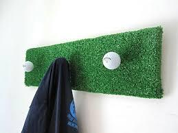 Golf Ball Coat Rack Custom Golfball Coat Hanger Upcycle Drew Pinterest Coat Hanger