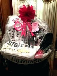 bridal shower gift basket ideas wedding prize