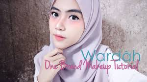 wardah one brand makeup tutorial first impression shafira eden