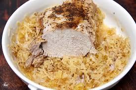 best ever pork roast and sauer