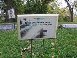 Javier D. Vaughn (1999-2013) - Find A Grave Memorial