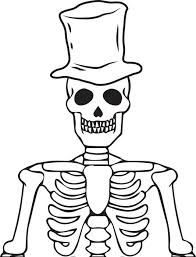 Small Picture Luxury Skeleton Coloring Page 20 With Additional Coloring Pages