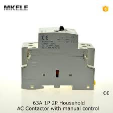 2 pole contactor reviews online shopping 2 pole contactor mkwct 63m wct 63a double pole household electric ac power contactor 63a uc230v manually operated