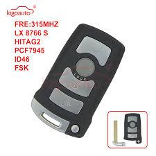<b>Kigoauto Smart key</b> CAS1 4 button 315mhz FSK hitag2 ID46 ...