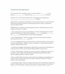 Printable Commercial Lease Agreement Template Sample Rental Word Pdf ...