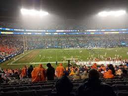 Bank Of America Stadium Section 318 Home Of Carolina Panthers