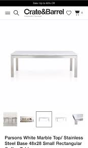 barrel white marble coffee table