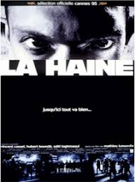 la haine mathieu kassovitz not the critic s choice la haine is a 1995 art house drama film written and directed by mathieu kassovitz it is has been referred to by nme as a ldquobeautiful and blistering piece of