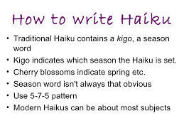 What Is The Pattern Of A Haiku Mesmerizing Haiku Poetry