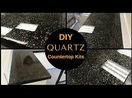 how to diy black quartz countertop resurfacing kits leggari s new countertop kit